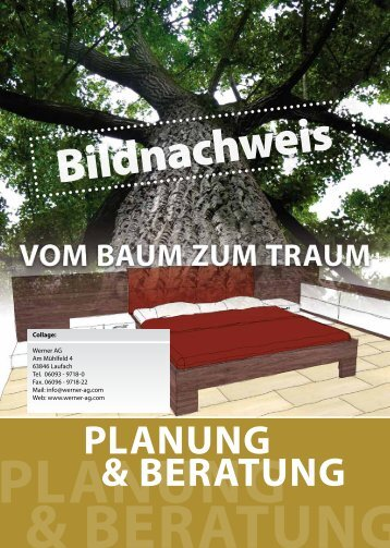 Bildnachweis des aktuellen Kataloges PK5 (03-2012) - Werner AG