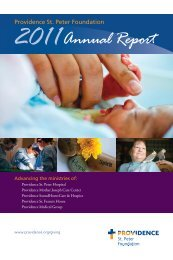 Annual Report - Providence Washington - Providence Health ...