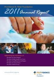 Annual Report - Providence Washington - Providence Health ...
