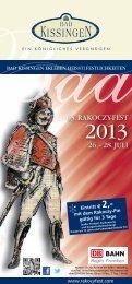 Jetzt Downloaden: Das Programmheft - Rakoczy-Fest