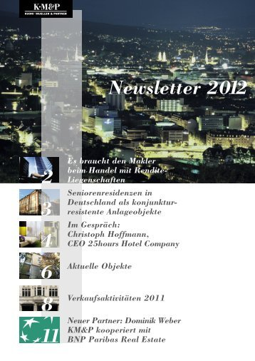 Newsletter 2012 2 3 4 6 8 11 - kmp.ch