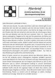 Pfarrbrief - kirche-daun.de