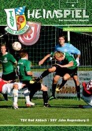 Inselmagazin 10/2011 - TSV Bad Abbach