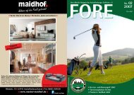 FORE 02/07 (PDF) - Aschaffenburger Golf Club