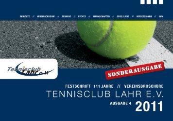 11 - Tennisclub Lahr eV