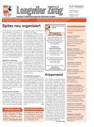 Ausgabe vom 14. Dezember 2012 [PDF - Gemeinde Lengwil