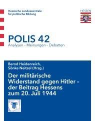 POLIS 42 - Hessische Landeszentrale für politische Bildung