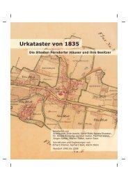 Urkataster von 1835 - Ferndorf