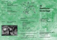 45. Steinfurter Gartentage - Bundesarbeitsgemeinschaft ...