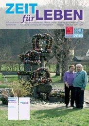 Informationen aus den Seniorenzentren Martin Luther, Streitberg ...