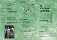46. Steinfurter Gartentage - Bundesarbeitsgemeinschaft ...