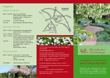 48. Steinfurter Gartentage - Kreis Steinfurt