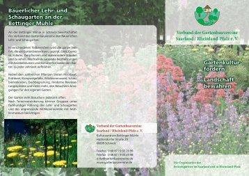 Verband der Gartenbauvereine Saarland / Rheinland-Pfalz e. V.