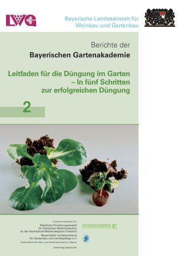 Leitfaden für die Düngung im Garten - Bayerische Landesanstalt für ...