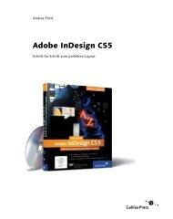 Adobe InDesign CS5 (PDF) - Galileo Design