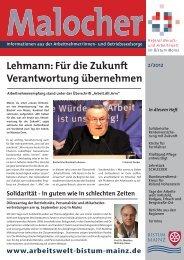 2/2012 - beim Bistum Mainz