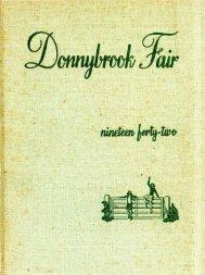 Donnybrook Fair 1942 - Goucher College