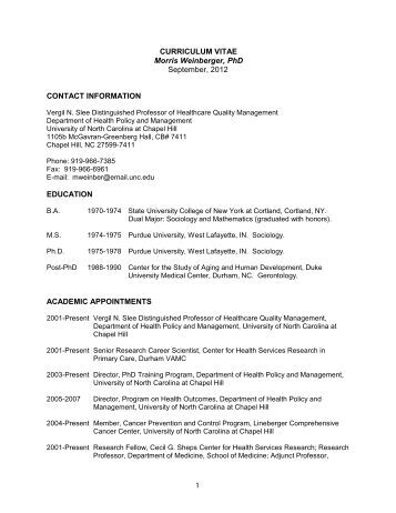 curriculum vitae phd thesis Building up the institute teaching, supervisor of diploma and phd theses  curricula development and coordination 1997 institute of botany, university of.