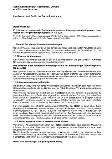 Merkblatt ASA in Kleing SenStadt-LV Mai08 - Landesverband Berlin ...