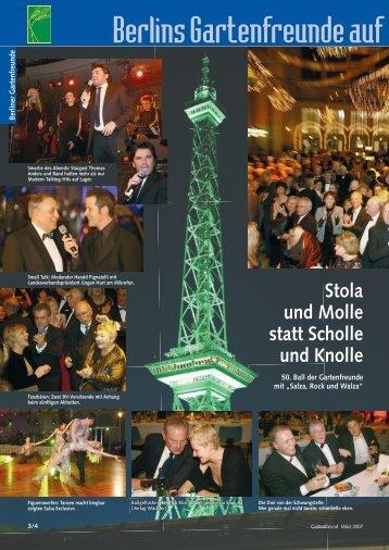 Berlins Gartenfreunde auf der IGW 2007 - Landesverband Berlin der ...