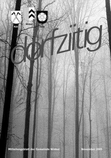 dorfziitig November 2005