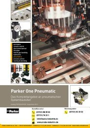 Parker One Pneumatic - Die Hypneu Gruppe
