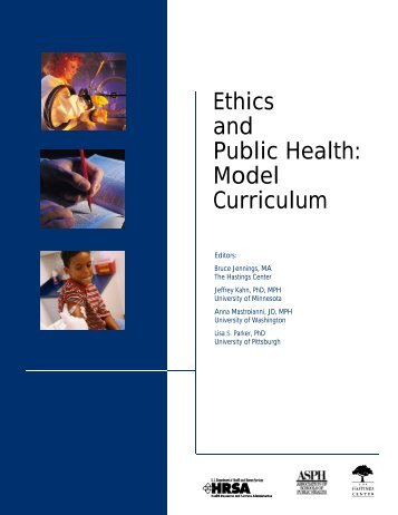 Ethics and Public Health: Model Curriculum - Association of Schools ...