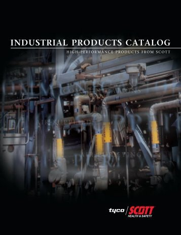 INDUSTRIAL PRODUCTS CATALOG - Approved Gas Masks