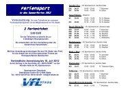 Feriensport Feriensport - VfL Stade