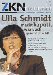 DEZEMBER 2005 12 - Zahnärztekammer Niedersachsen