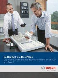Bosch 5000.pdf - Bosch Sicherheitssysteme GmbH