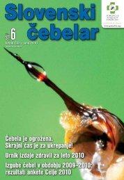 junij 2010 - Čebelarska zveza Slovenije