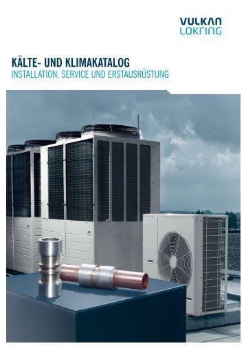 PDF-Download des Kälte l Klima-Katalogs - vulkan lokring