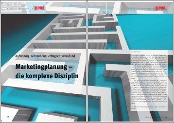 Marketingplanung - Vera Hermes Journalistin