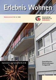 Ausgabe 16 / 2008 - Gemeinnützige Wohnstätten eG Wolfenbüttel