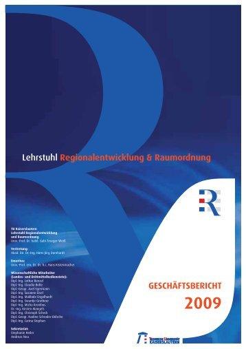 Lehrstuhl Regionalentwicklung & Raumordnung - Universität ...