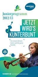 Juniorprogramm 2012/13 - Konzerthaus Berlin
