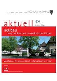 aktuell - Gemeinnütziger Spar- und Bauverein Friemersheim eG