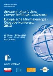 Programm - World Sustainable Energy Days