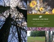 Annual Report 2006 - Simsbury Land Trust
