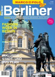 FASHION WEEK IN BERLIN - Berliner Zeitung