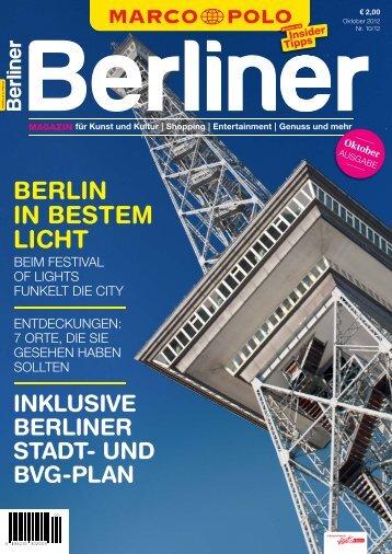 BERLIN IN BESTEM LICHT - Berliner Zeitung