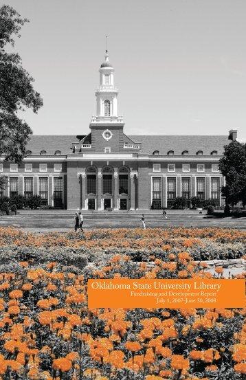 2008 - Oklahoma State University Library