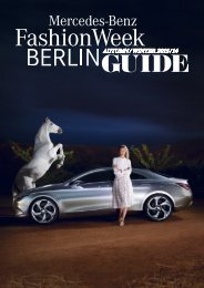 All colors will agree in the dark! - Mercedes-Benz Fashion Week Berlin