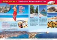 COSTA BLANCA – die Weisse Küste erwartet Sie! Calpe