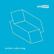 einfach. schön. klug. - Unicom Werbeagentur GmbH