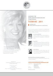 TERMINE 2011 - Parico Cosmetics GmbH