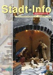 Stadt-Info 19. Dezember 2011 Nr. 9 - Seekirchen am Wallersee