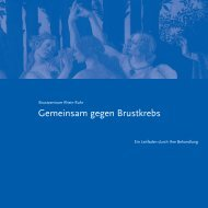 PDF Broschüre über das Brustzentrum - bei der Kaiserswerther ...