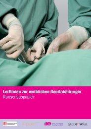 Leitlinien zur weiblichen Genitalchirurgie Konsensuspapier - Wiener ...